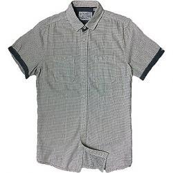 Jeremiah Men's Jacquard Embroidery Woven S/S Shirt Antique