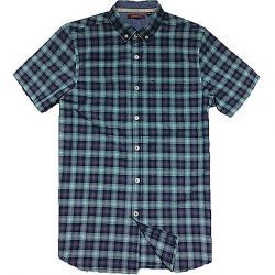 Jeremiah Men's Indigo Plaid S/S Shirt Coastal