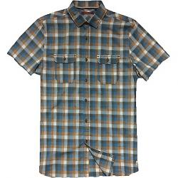 Jeremiah Men's Space Dye Plaid S/S Shirt Rosewood