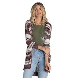 Billabong Women's Stripes Over You Sweater Mystic Maroon