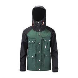 Topo Designs Women's Mountain Jacket Forest / Black