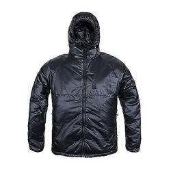 Topo Designs Men's Puffer Hoodie Jacket Black F17