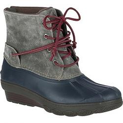 Sperry Women's Saltwater Wedge Tide Boot Grey
