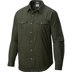 Columbia Men's Hyland Woods Shirt Jacket Gravel
