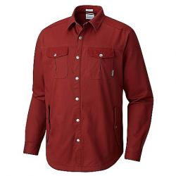 Columbia Men's Hyland Woods Shirt Jacket Deep Rust