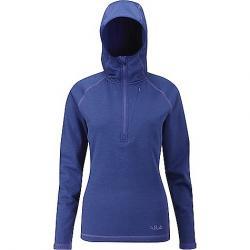 Rab Women's Nucleus Hoody Jacket Blue Print