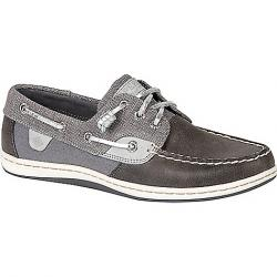 Sperry Women's Songfish Sparkle Canvas Shoe Grey