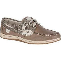 Sperry Women's Songfish Heavy Linen Shoe Taupe