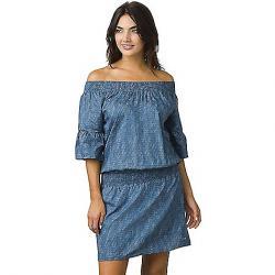 Prana Women's Lenora Dress Blue Sprinkle