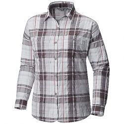 Mountain Hardwear Women's Canyon VNT Long Sleeve Shirt Fogbank