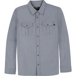 United By Blue Men's Fife Travel Shirt Grey
