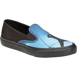 Sperry Women's Cloud Slip On Duel Sneaker Black / Blue