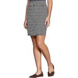 Toad & Co Women's Transita Skirt Buffalo Stripe