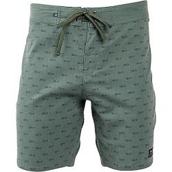 United By Blue Men's Longbow Scallop Boardshort Olive