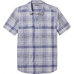 Toad & Co Men's Hookline SS Shirt Weathered Blue