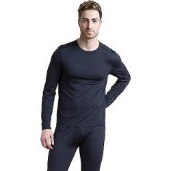 ExOfficio Men's Give-and-Go Performance Base Layer Crew Neck Top Black