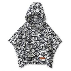 KAVU Youth Little Seeker Poncho Snow Tribal
