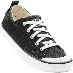 Keen Women's Elsa Sneaker Shoe Black / Star White