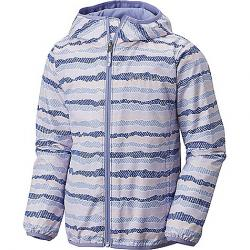 Columbia Youth Pixel Grabber II Wind Jacket Clematis Blue Stripe / Fairytale