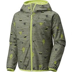 Columbia Youth Pixel Grabber II Wind Jacket Cypress Campin Print / Voltage