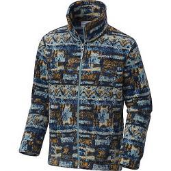 Columbia Youth Boys' Zing III Fleece Jacket Storm Retro Print