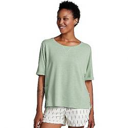 Toad & Co Women's Couvert Hemp SS Pullover Agave Heather