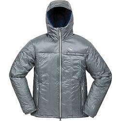 Big Agnes Men's Dunkley Belay Jacket Grey / Dark Blue