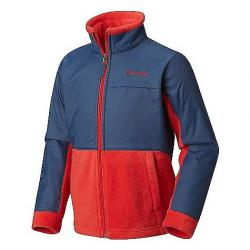 Columbia Youth Boys' Steens MT Overlay Jacket Red Spark / Dark Mountain