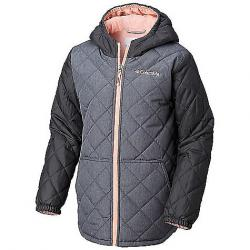 Columbia Youth Girls Puffect Jacket Grill Hthr / Grill