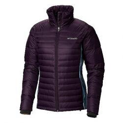 Columbia Women's Powder Pillow Hybrid Jacket Dark Plum / Dark Mirage