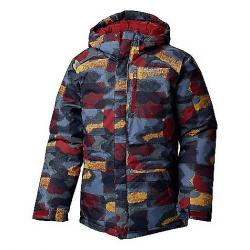 Columbia Toddler Boys' Lightning Lift Jacket Red Element Blocks Print