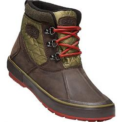Keen Women's Elsa II Ankle Quilted Waterproof Boot Mulch / Martini Olive