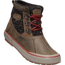 Keen Women's Elsa II Ankle Wool Waterproof Boot Canteen / Red Dahlia