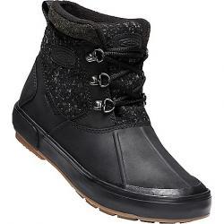 Keen Women's Elsa II Ankle Wool Waterproof Boot Black / Raven