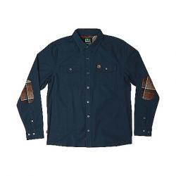 HippyTree Men's Del Rey Woven Shirt Navy