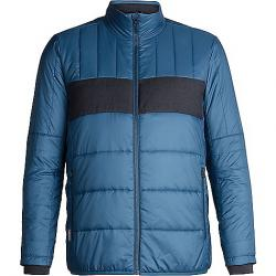 Icebreaker Men's Stratus X Jacket Prussian Blue / Jet Heather