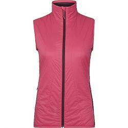 Icebreaker Women's Hyperia Lite Hybrid Vest Prism / Velvet