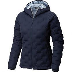 Mountain Hardwear Women's StretchDown DS Hooded Jacket Dark Zinc