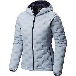 Mountain Hardwear Women's StretchDown DS Hooded Jacket Arctic Blue