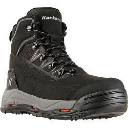 Korkers Men's Verglas Ridge Boot Black
