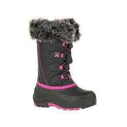 Kamik Kids' Snowgypsy Boot Black / Magenta BMM