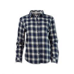 Purnell Women's Vintage Plaid Flannel LS Shirt Blue