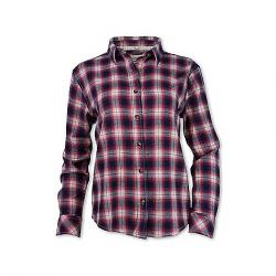 Purnell Women's Vintage Plaid Flannel LS Shirt Red