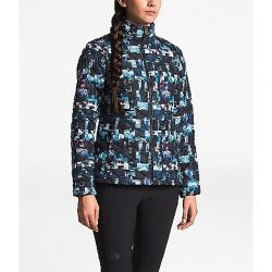 The North Face Women's ThermoBall Jacket Multi Glitch Print