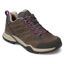 The North Face Women's Hedgehog Hike II GTX Shoe Bone Brown / Wild Aster Purple