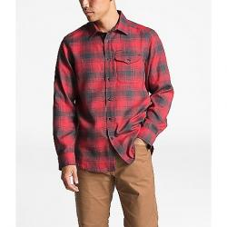 The North Face Men's ThermoCore LS Shirt TNF Red Prospect Plaid