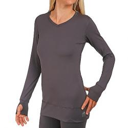 Snow Angel Women's Veluxe Essential Tunic Top Charcoal