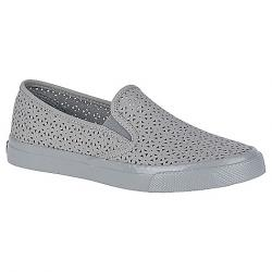 Sperry Women's Seaside Nautical Perf Shoe Grey