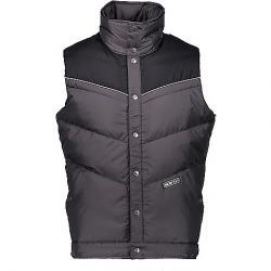 Obermeyer Men's Carson Down Vest Grey Matter