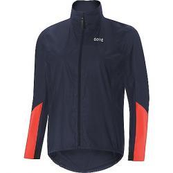 Gore Wear Women's Gore C7 GTX Shakedry Viz Jacket Storm Blue / Lumi Orange